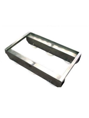ST6-12 STAINLESS TROLLEY 6 WHEEL
